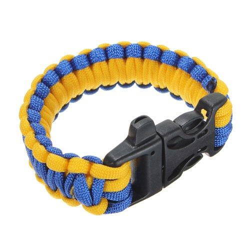 11 Colors 550 Paracord Type III 7 Strand Parachute Cord Survival Bracelet W Y7