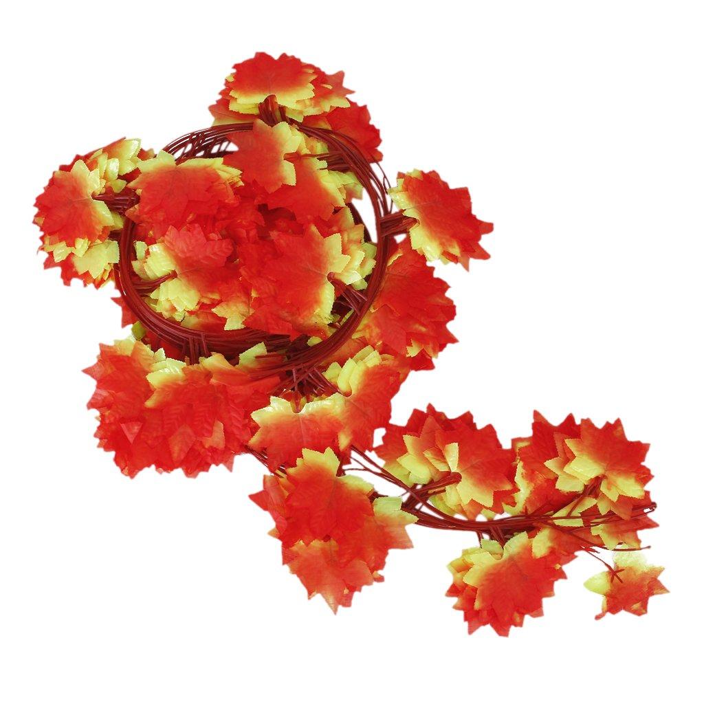 12 x kuenstliche efeu weinlaub pflanzen zu hause for Rote dekoration