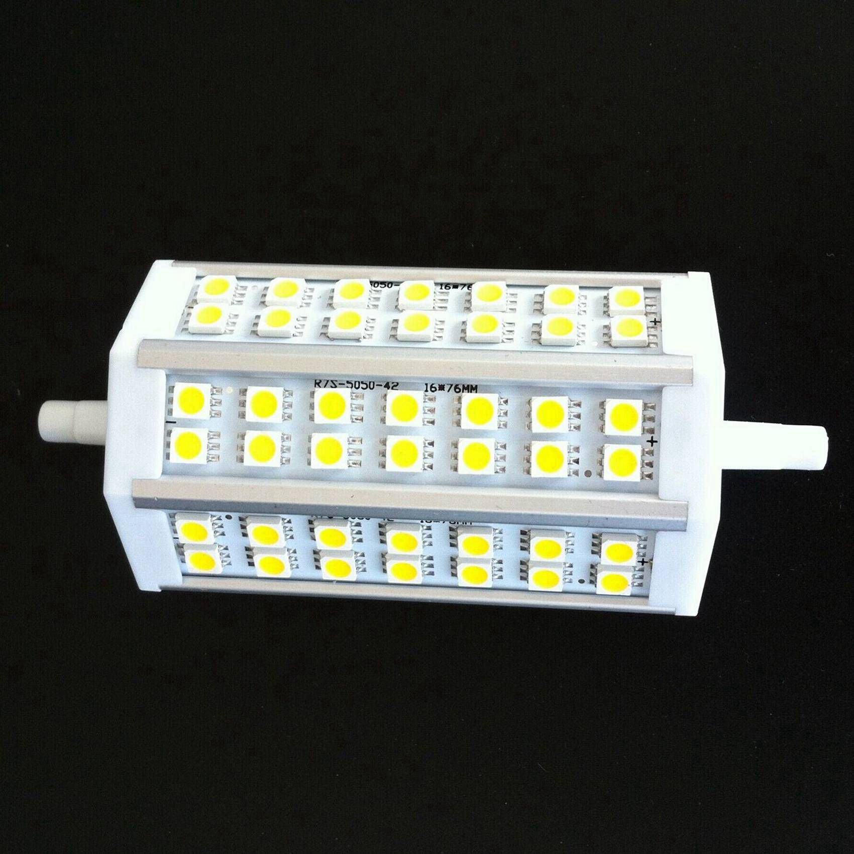 s2 r7s 118mm 42 smd5050 led lampe birne spot dimmbar warmweiss ersatz fuer 150w ebay. Black Bedroom Furniture Sets. Home Design Ideas