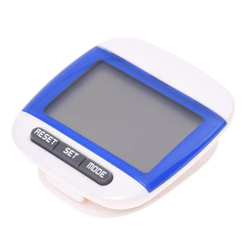 Nouveau Multi-fonction Podometre Distance Compteur de Calorie 5 Etapes Tamp E9R6