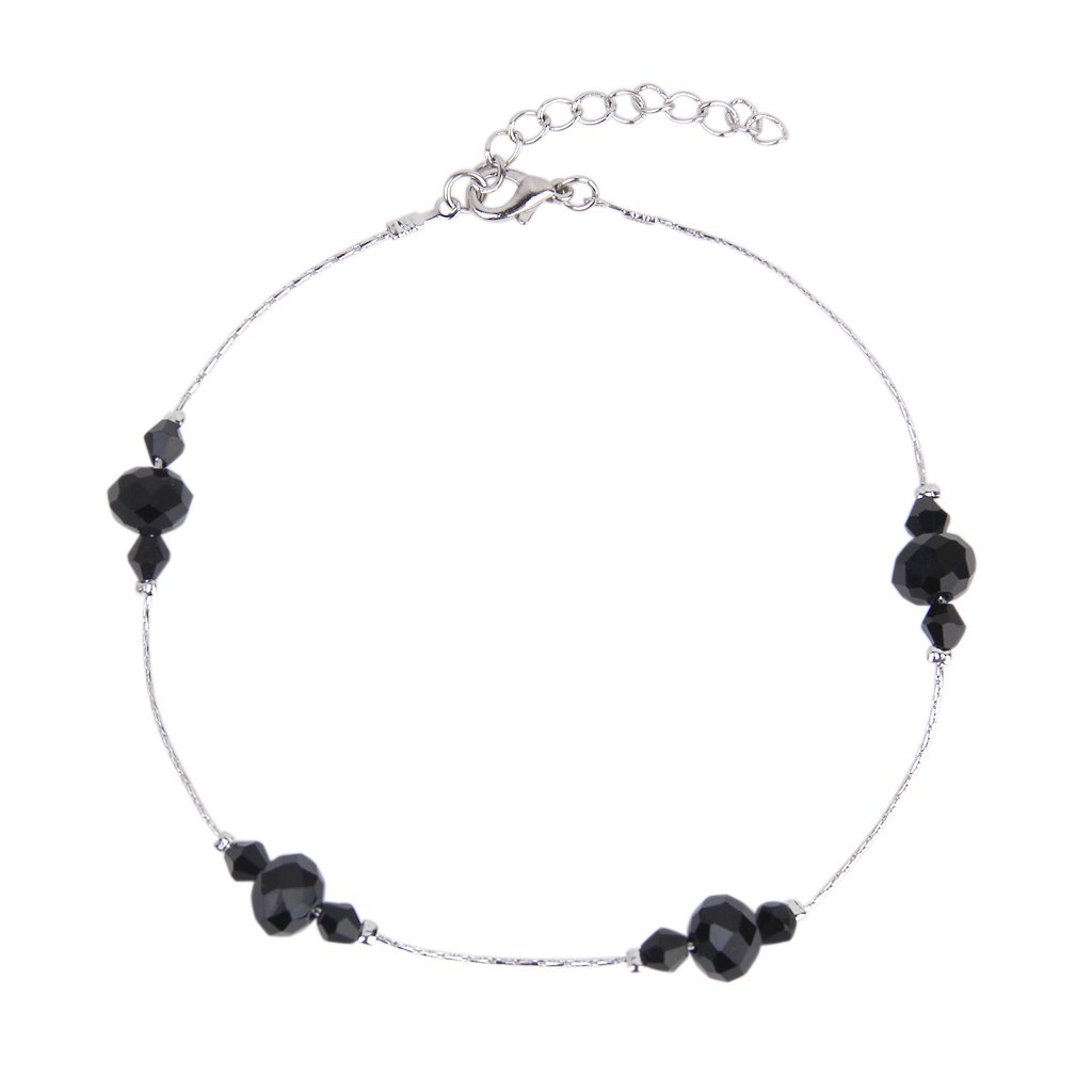 fusskettchen knoechel kette armband mit schwarze. Black Bedroom Furniture Sets. Home Design Ideas