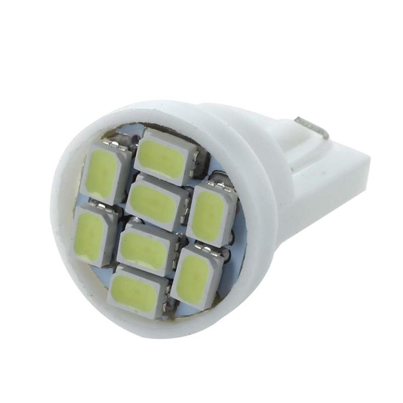 20X T10 W5W 168 194 8 SMD LED Ampoule Feux Lumiere Blanc Pour Voiture O7B7