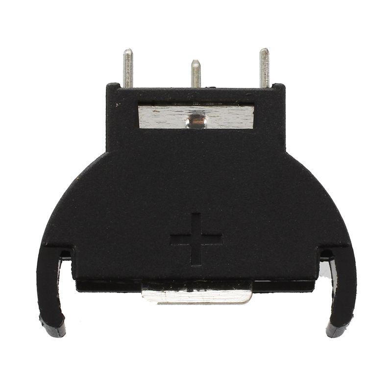 5-Pcs-Black-Plastic-CR2032-Cell-Button-Lithium-Battery-Sockets-Holder-CR-A-S5D2
