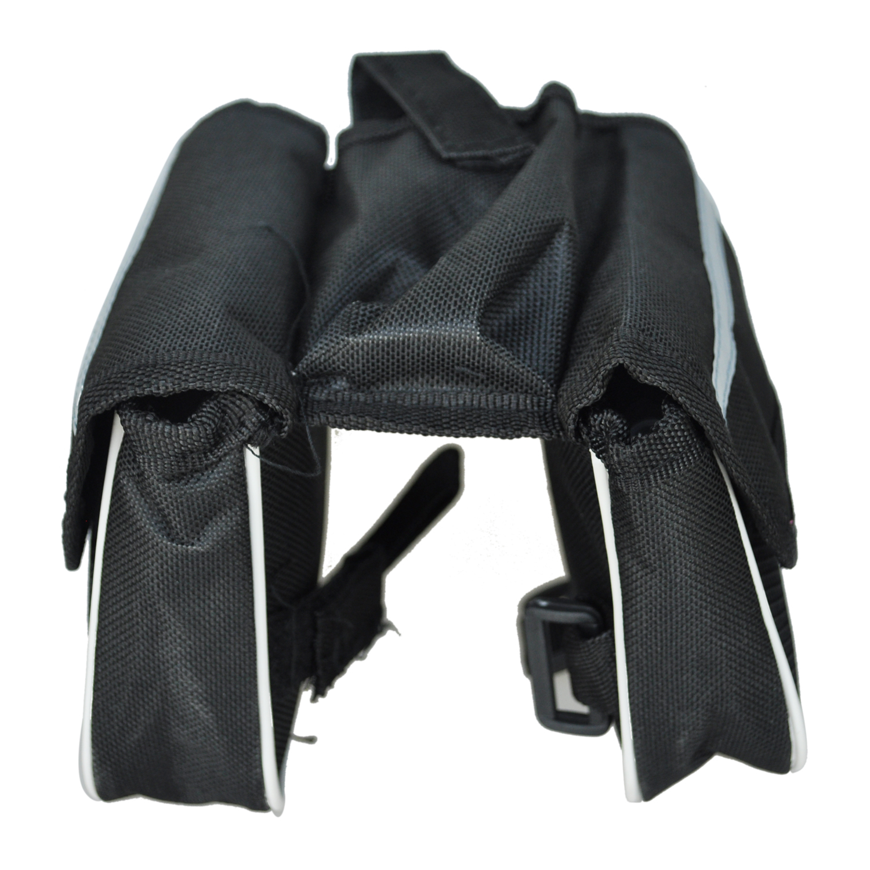 fahrrad zyklus fahrrad doppelkofferbergrahmenvorderrohr satteltasche tasche b3o5 ebay. Black Bedroom Furniture Sets. Home Design Ideas