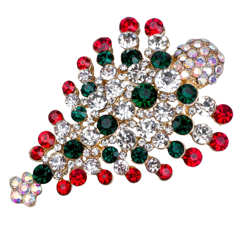 Pin-Broche-del-arbol-de-Navidad-de-cristal-multicolor-Regalo-de-Navidad-L8I5