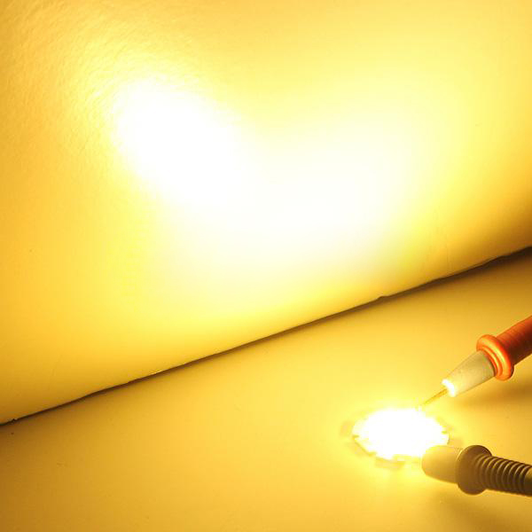 2X 3W COB Hohe Leistung Super helle Lampe Wulst LED Chip R7F3