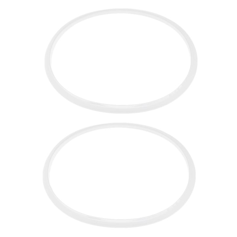 2 Stueck Gummi-Dichtung Dichtungsring Schnellkochtoepfe 28Cm Innendurchmess L5X8