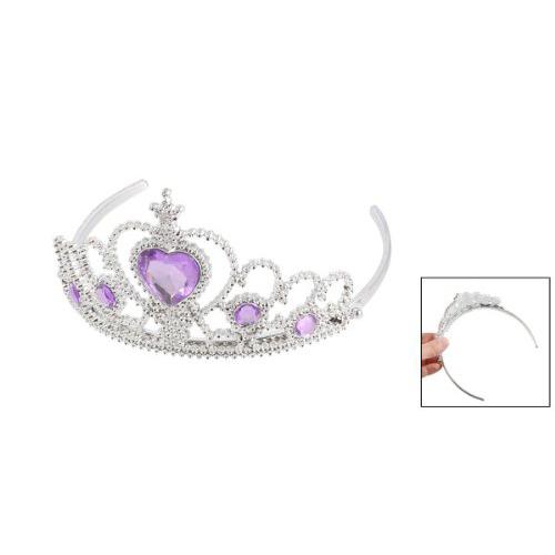 braut wasserdichte diamant krone tiara krone stirnband haarband silber lila b3e9 ebay. Black Bedroom Furniture Sets. Home Design Ideas