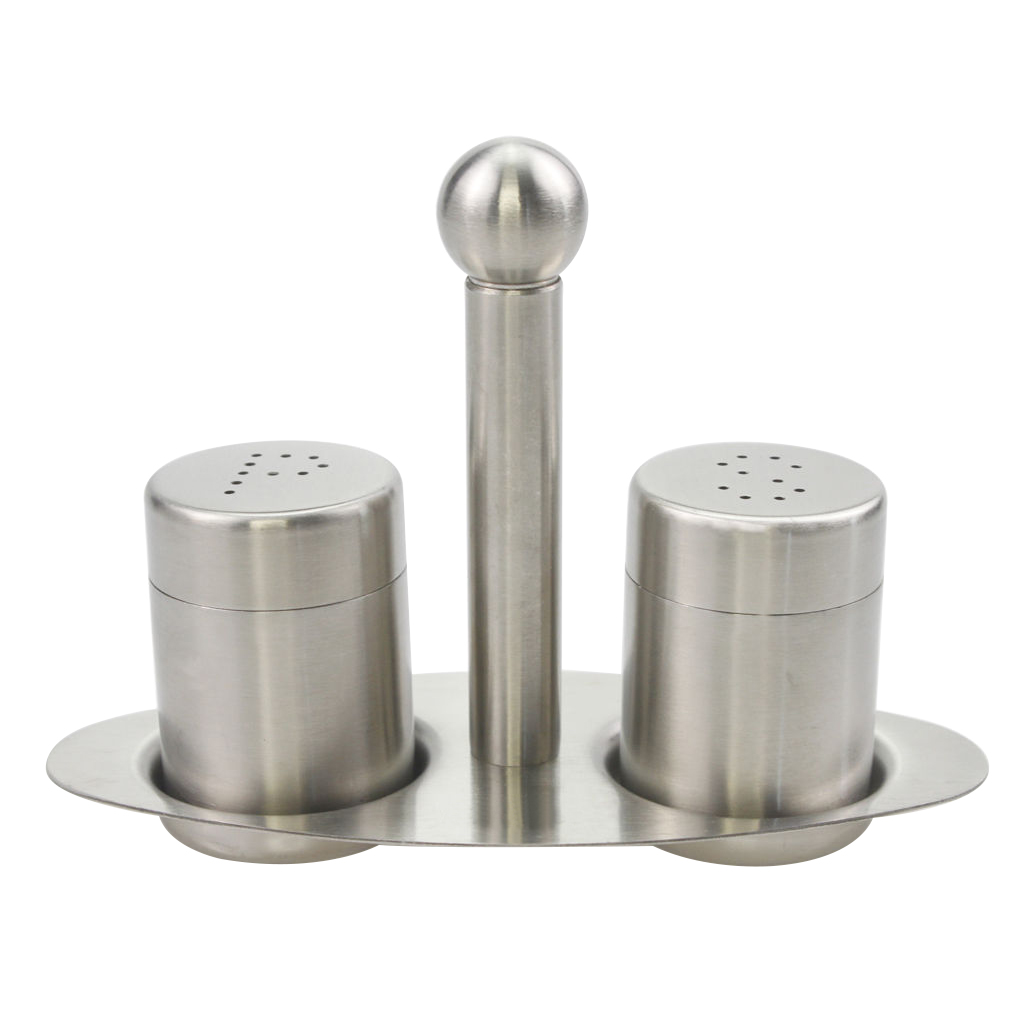 high quality  stainless steel salt pepper food shaker set pj  - high quality  stainless steel salt pepper food shaker set pj