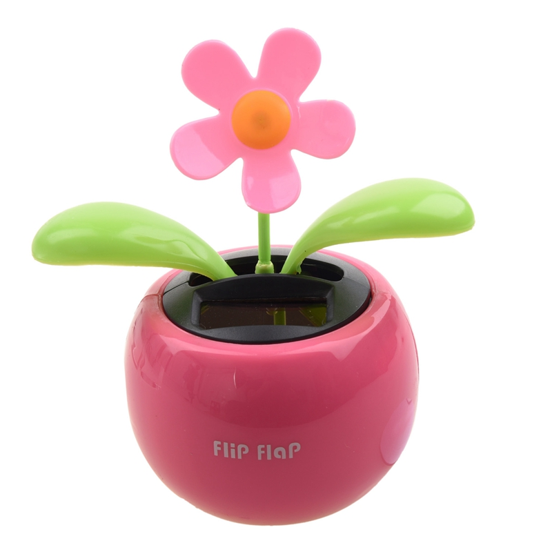 Solarbetriebene Tanzende Blume Solarblume Wackelblume Dancing Flower G1N5 B6O8