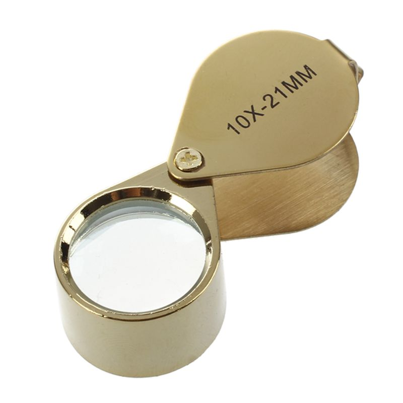 10x-Magnifying-Magnifier-Glass-Jewellers-Eye-Foldable-Jewelry-Loop-Loupe-Gold-JV