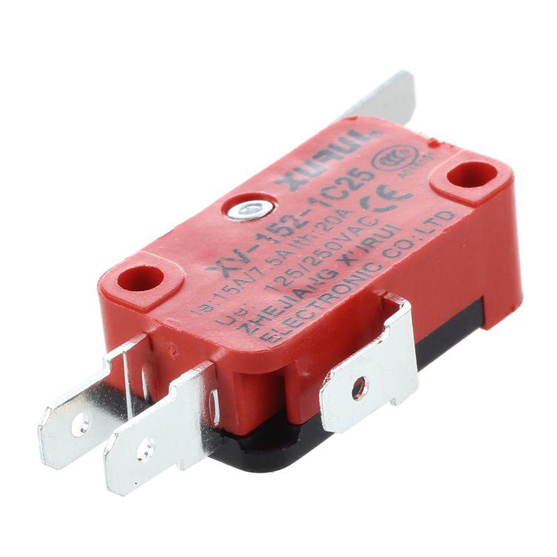 XURUI-XV-152-1C25-Hinge-Lever-Type-Miniature-Micro-Switch-S6D5