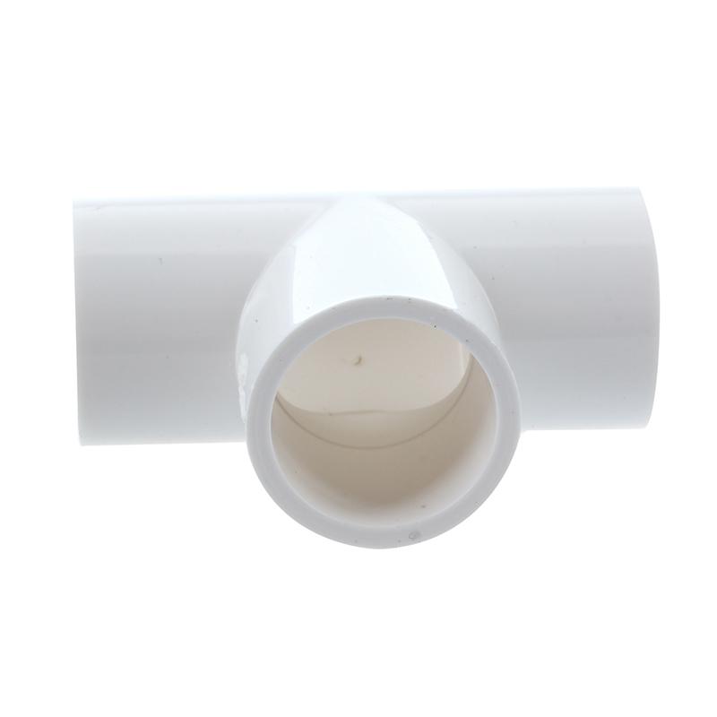 20 mm pvc t stueck 3 weg wasser rohr schlauch adapter stecker weiss 5 stuec s6u1 ebay. Black Bedroom Furniture Sets. Home Design Ideas