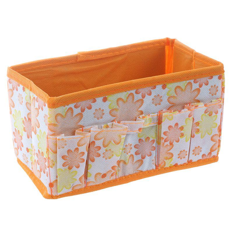 2-x-Caja-plegable-almacenamiento-multifuncion-para-maquillaje-cosas-cosmeticD4Q8