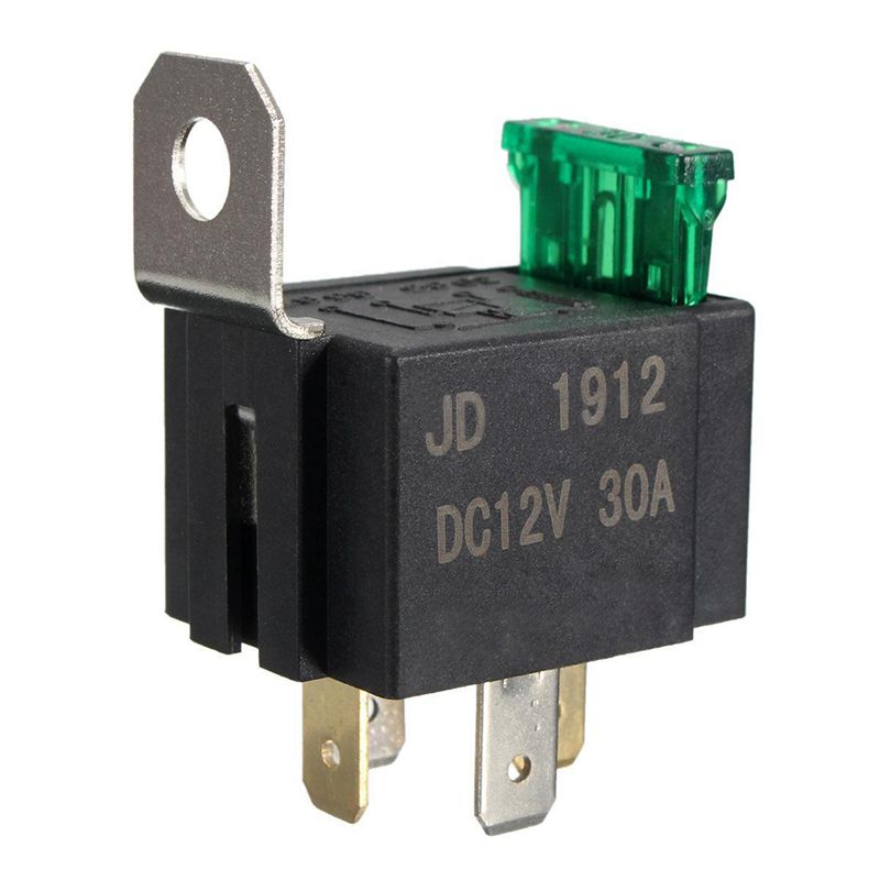 20x-12V-30A-4-Pin-SPST-Auto-KFZ-Relais-Schliesser-oeffner-Wechsel-Sc-E3Y5