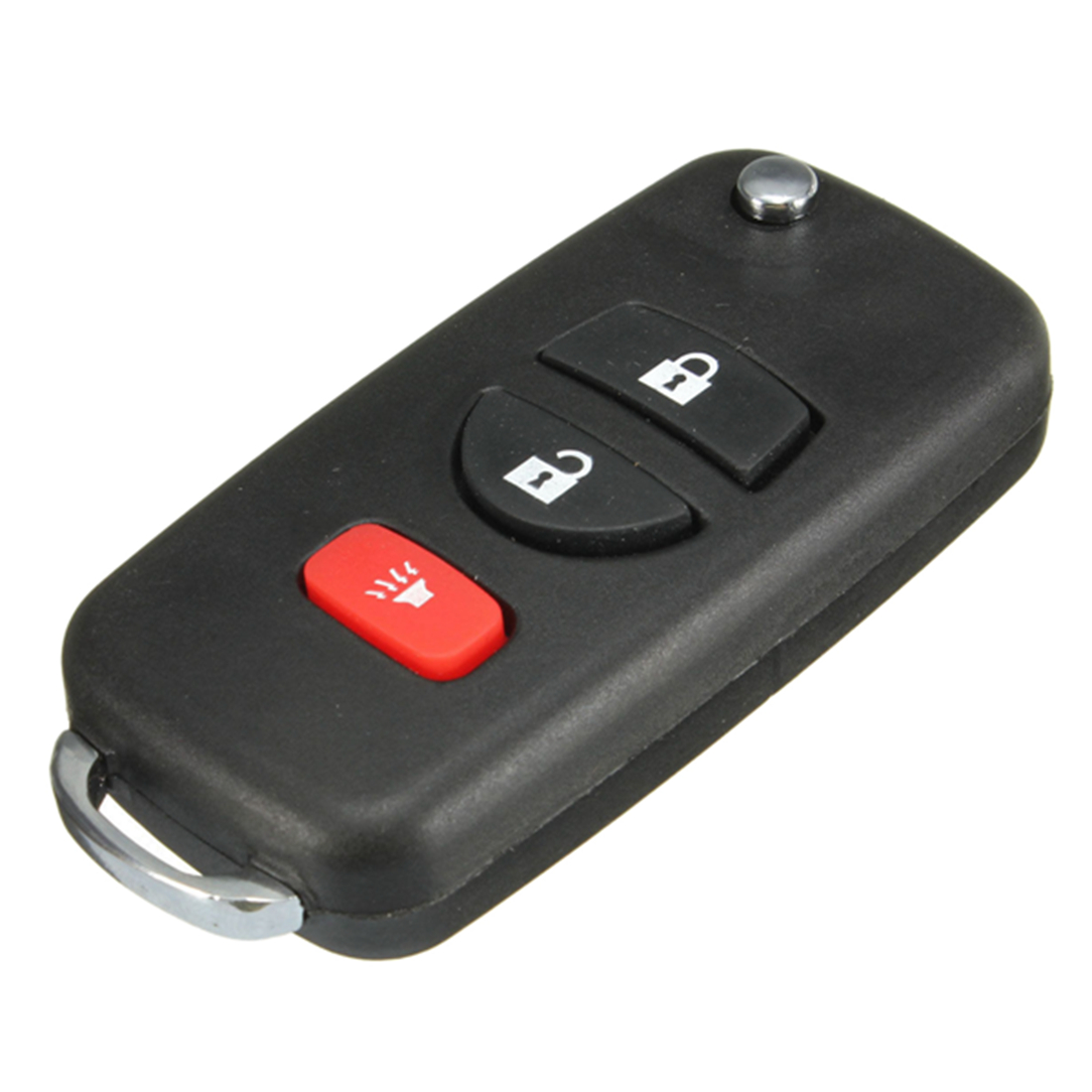 5X-3-Button-Folding-Remote-key-Case-For-Nissan-Frontier-Murano-Quest-2002-2-B1M4