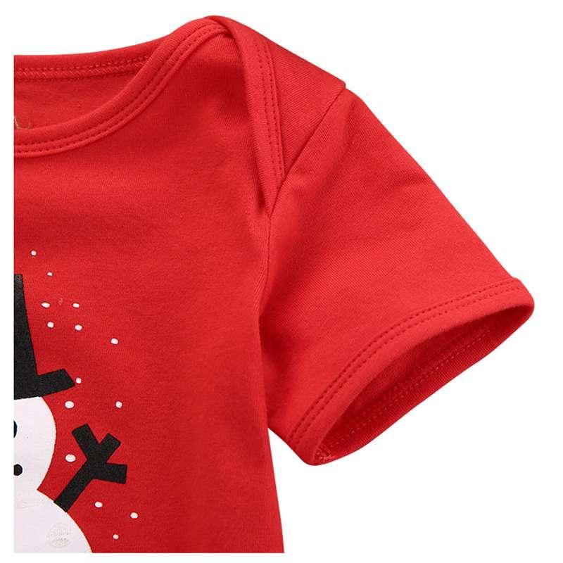 size 40 bc0df d73da Maedchen Jungen Schneemann Mein Erstes Weihnachten Bodysuit ...