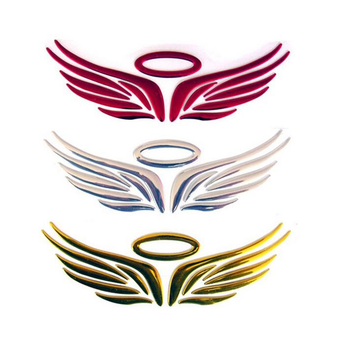 3D Angel Fairy Wings Car Auto Truck Logo Emblem Badge ...