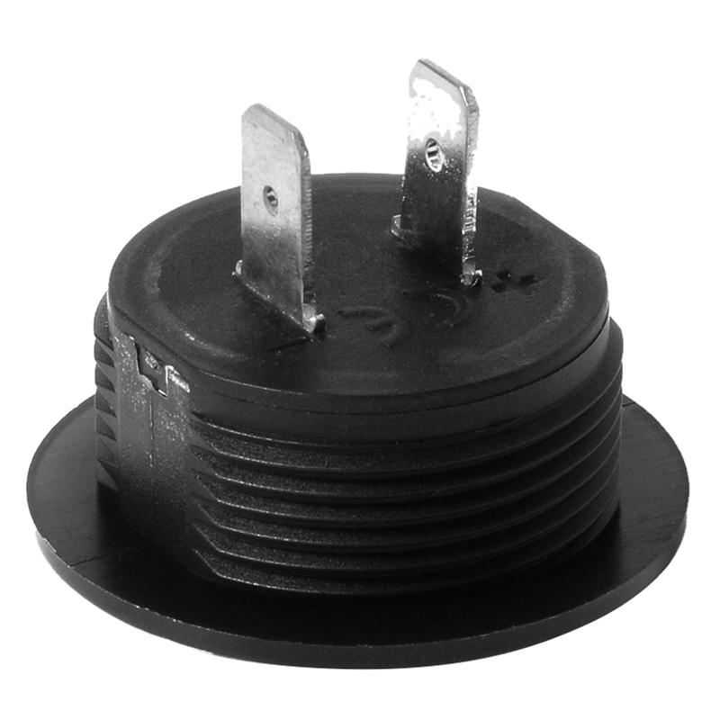 Universal Digital Monitor Voltimetro Impermeable voltaje Metro LED para DC  E8Y3