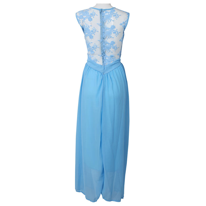 Vestido-mujer-Vestidol-verano-maxi-fiesta-largo-sin-mangas-O-cuello-senora-cJ3B2