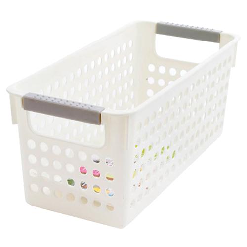 Japanese-style Stackable Plastic Storage Baskets//Bins Organizer Fruit Toys C LK