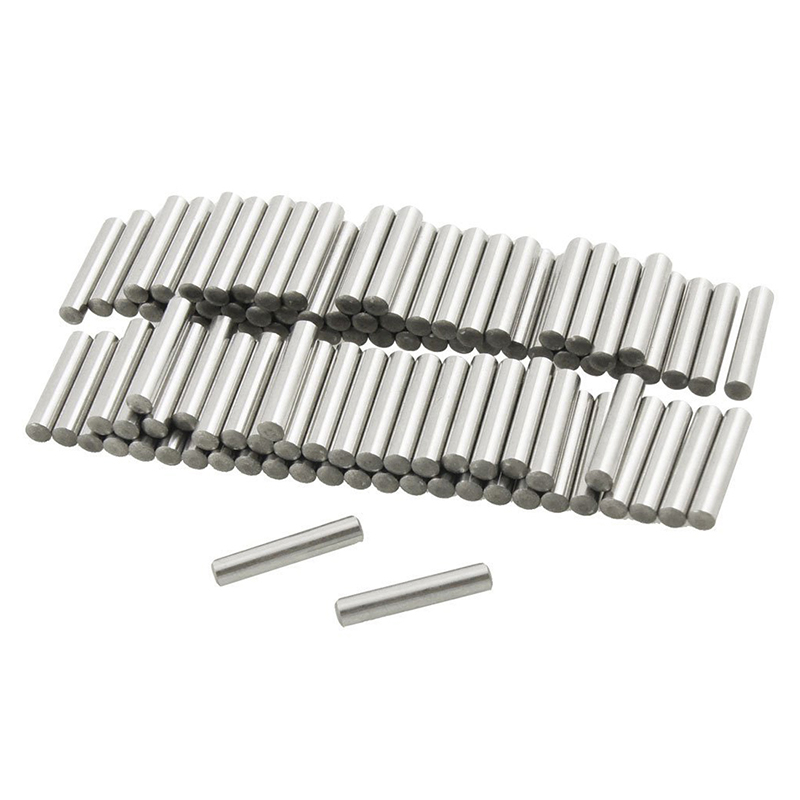 100 Pcs Stainless Steel 2.5mm x 16mm Dowel Pins Fasten Elements A8B4 191466615157