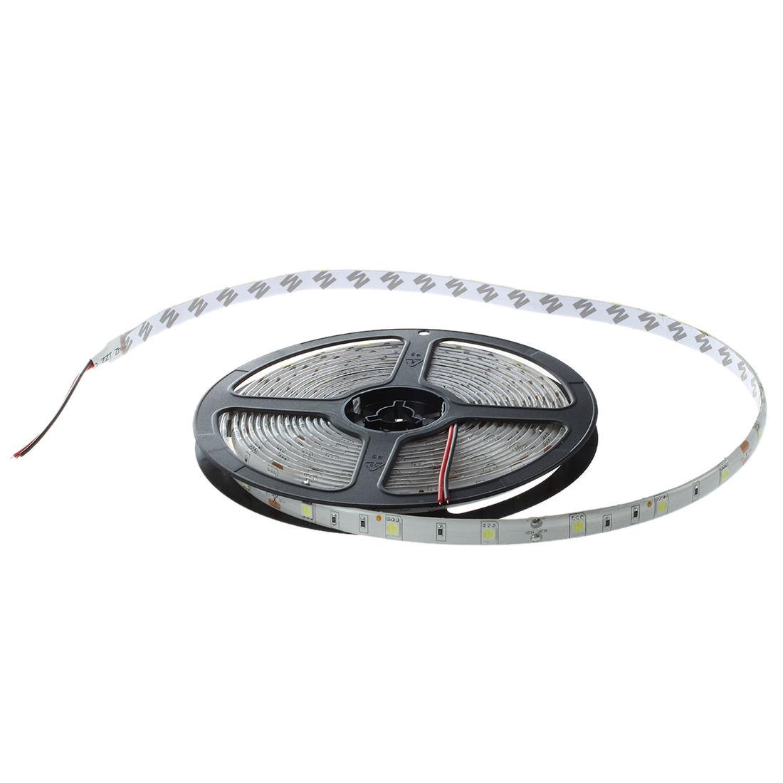 Waterproof 5M LED 150*5050 SMD DC12V warm white 36W IP65 Strip Light U4E6