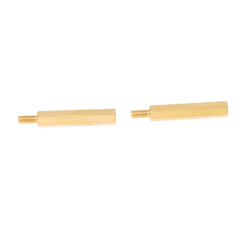 20-Piezas-Espaciador-separacion-PCB-tornillo-M3-macho-x-M3-hembra-25mm-LongiY9I3
