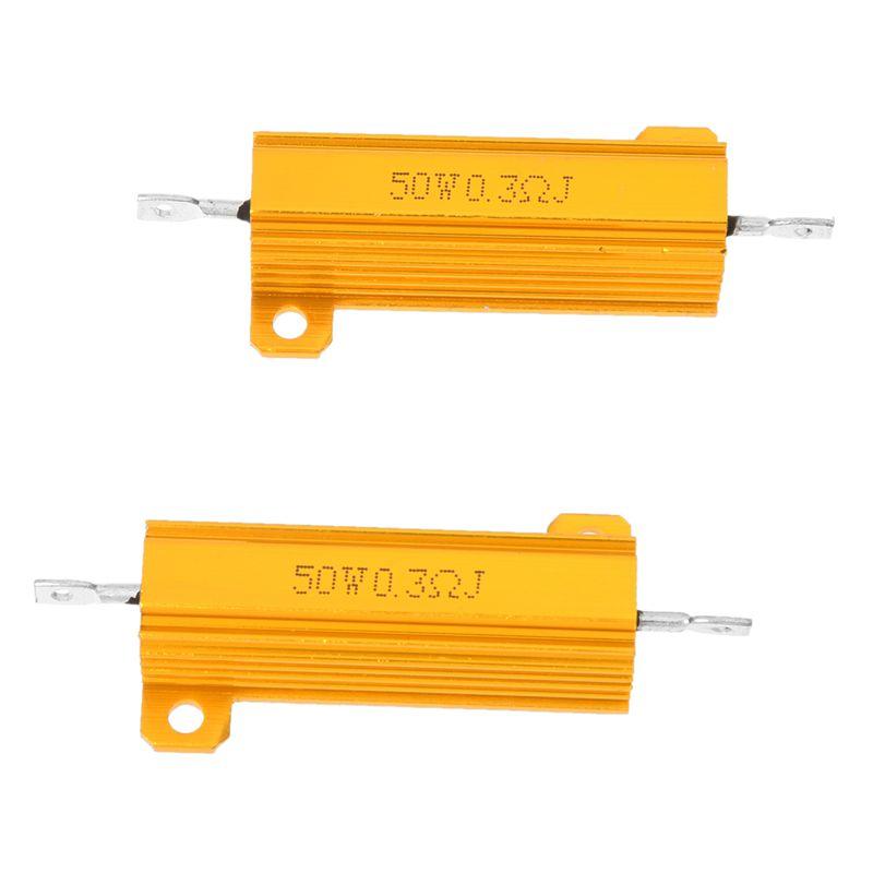 2-Piezas-Resistencia-Aluminio-50-Watt-Potencia-5-0-3-Ohm-Resistencia-H7F7
