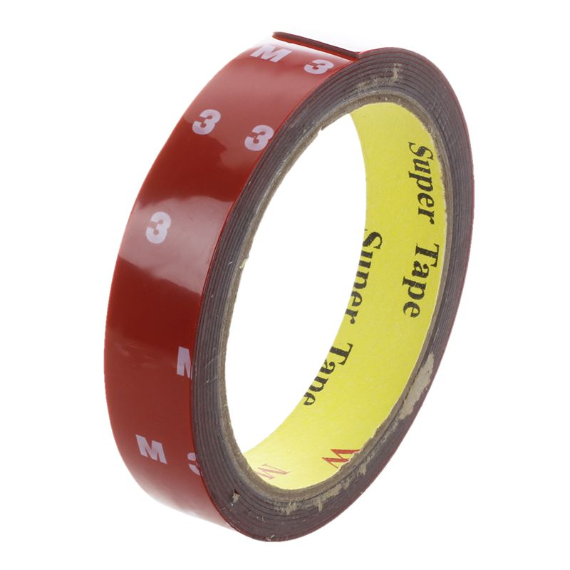 3M Strong Permanent Double Sided Super Sticky Foam Tape Roll For Vehicle  Y3 5X