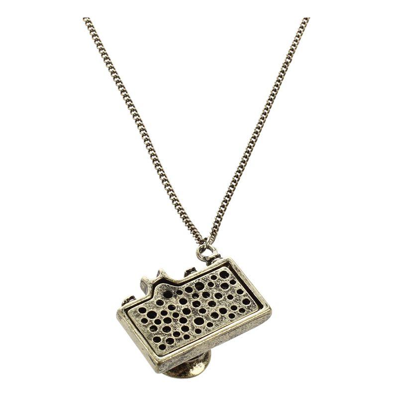 Fashion Vintage Jewelry Camera Necklaces Pendants Enamel Fashion Z1P5