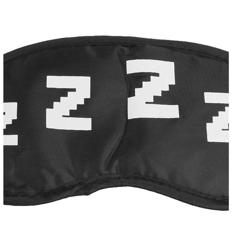 Elastico-Tira-para-la-cabeza-Blanco-Dormir-ZZZZ-Estampado-Antifaz-Blinder-Parche
