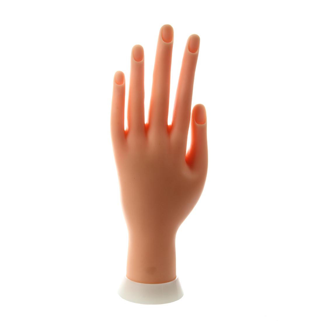Nagel Kunst Praxis Anzeige ?bungsfinger Modell Linke Hand E8S3 ...