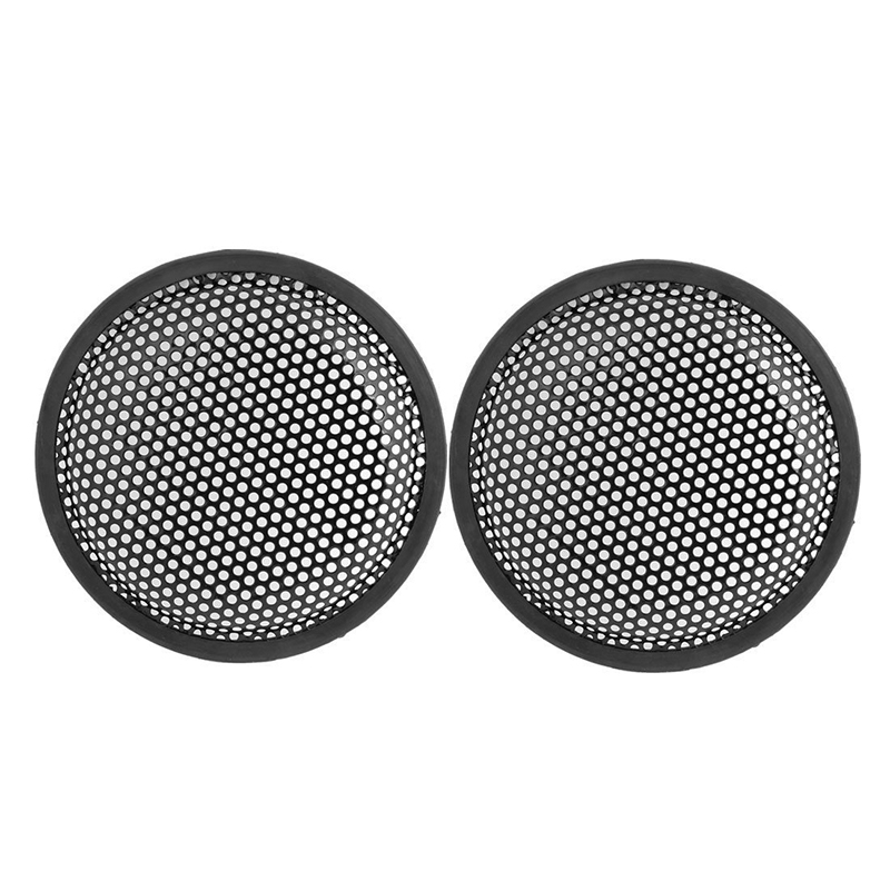 Image Is Loading 6 5inch Metal Mesh Round Car Woofer Cover