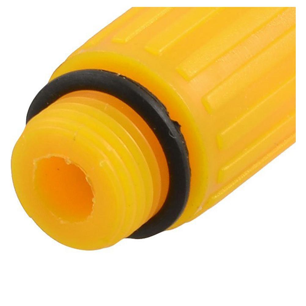 16mm Male Thread Dia Plastic Oil Plug for Air Compressor Orange E2P3 E3G3