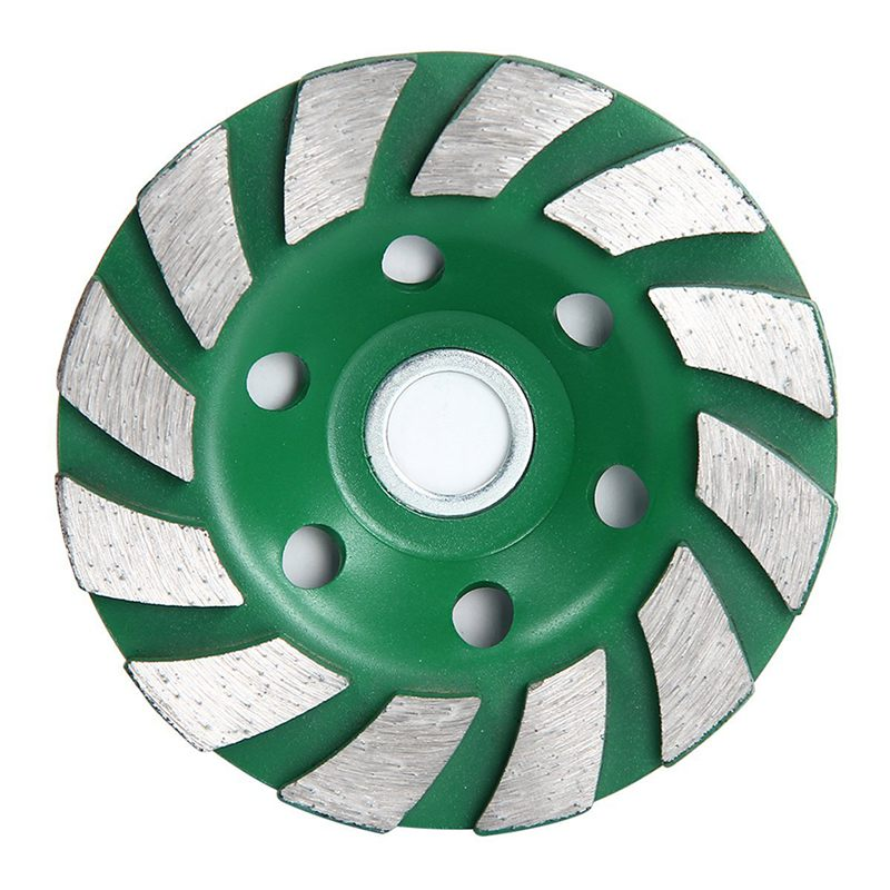 Details about 12 Segs 4 inch Concrete Turb Diamond Grinding Cup Wheel Disc  Masonry Stone O6C4