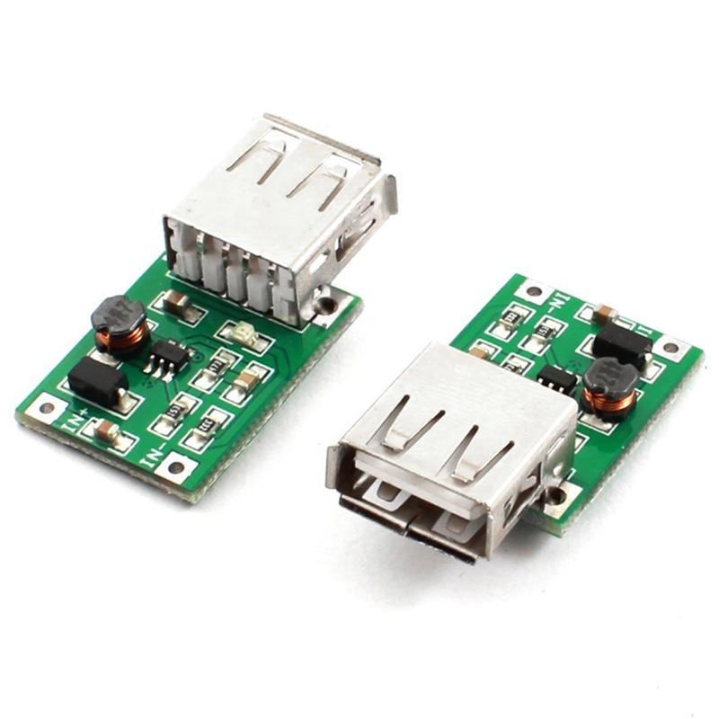 2 Piezas DC-DC 0.9V a 5V Step-up Impulsar la Modulo para MP3 MP4 USB Cargador J4