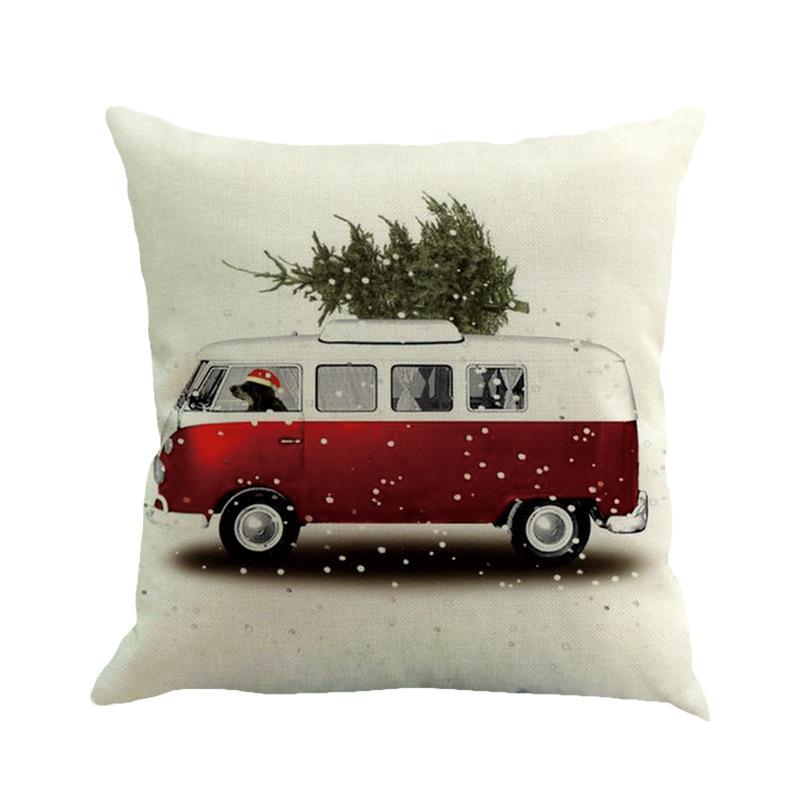 Weihnachten Weihnachtsbaum Flachs Kissen Buero Kissen Kissenbezug Serie Zwe C4D9