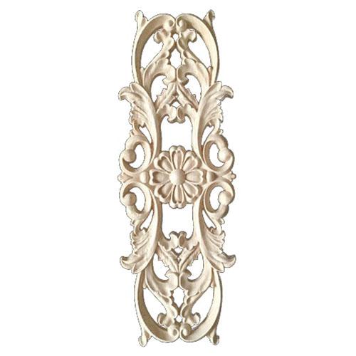2X-Rubber-Wood-Carved-Applique-Retro-Furniture-Crafts-Decor-New-22-5-8cm-P2W-SQ
