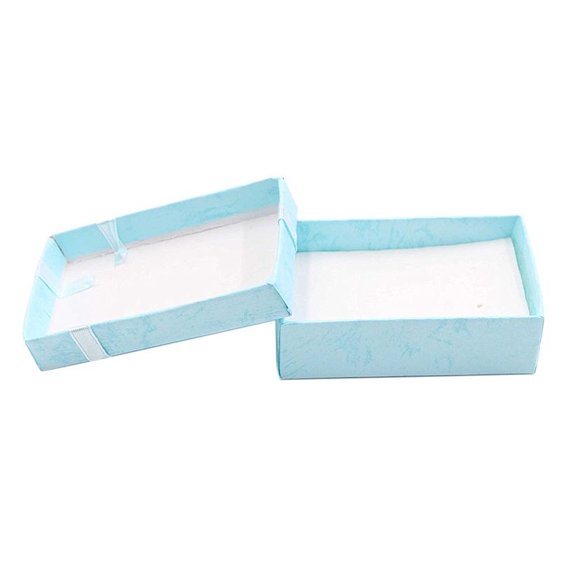 16 StüCk Papier Schmuck Geschenkboxen für Schmuck Display-Ringe Kleine Uhre juy