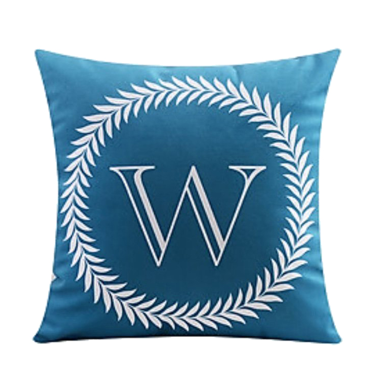 Like Decorative Pillow Cover Cushion Cover 18x18 i F1N3 45X45CM Letter Printing