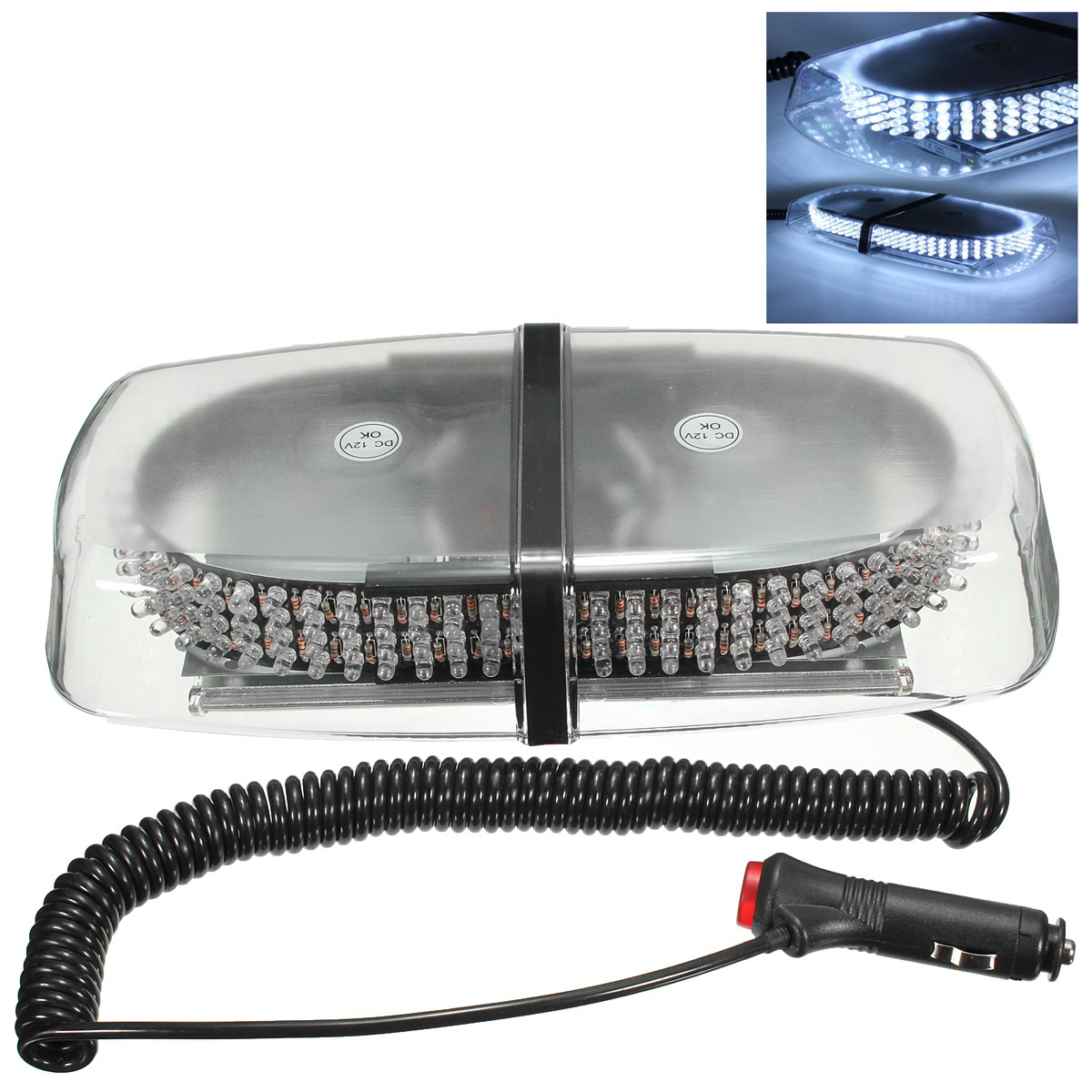 12V-240-LED-luz-estroboscopica-magnetica-de-advertencia-de-emergencia-luz-de-fla