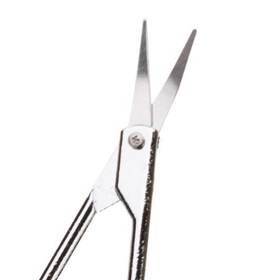 Аксессуары для макияжа Ножницы с изогнутыми лезвиями для подравнивания бровей обрезки кутикулы 2шт (Фото 4)