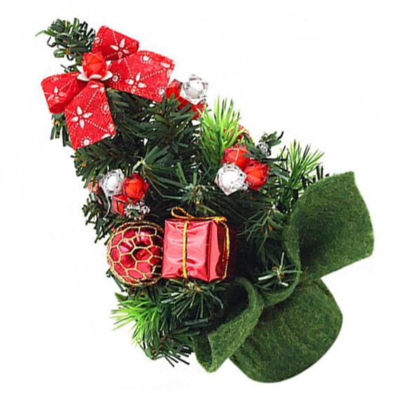 mini arbol de navidad artificial fino pequeno suministros - Arbol De Navidad Artificial