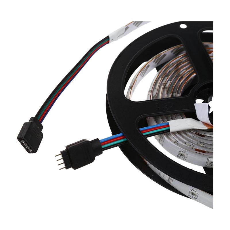 2X 2M 5050 SMD RGB Licht Leiste Strip Streifen Band S8S2