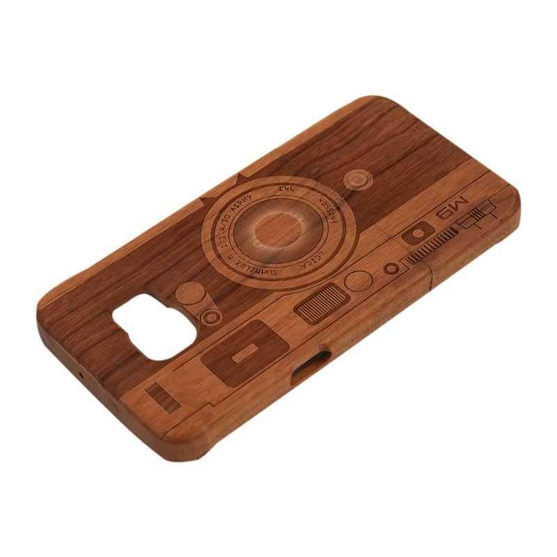 20X(For Samsung Galaxy S6 Edge Plus Unique Genuine Handmade Natural Wooden P7T8) 191466390085