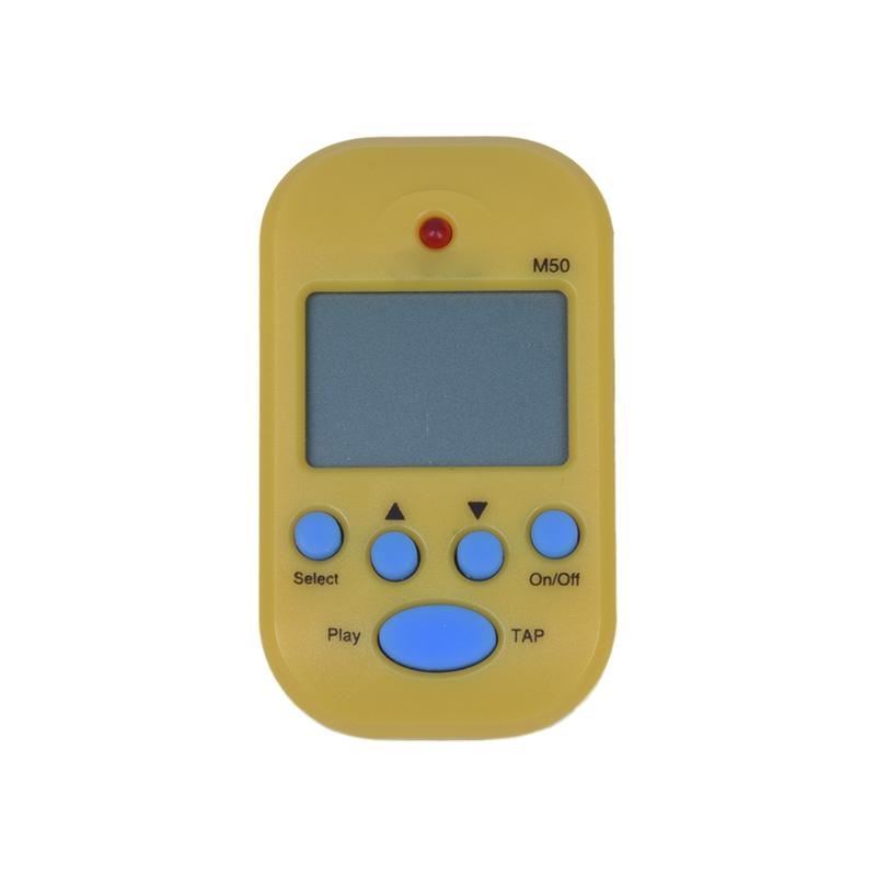 M50 Metronom Digitale Elektronik mit gelbem Clip Instrument Z7B8 | eBay