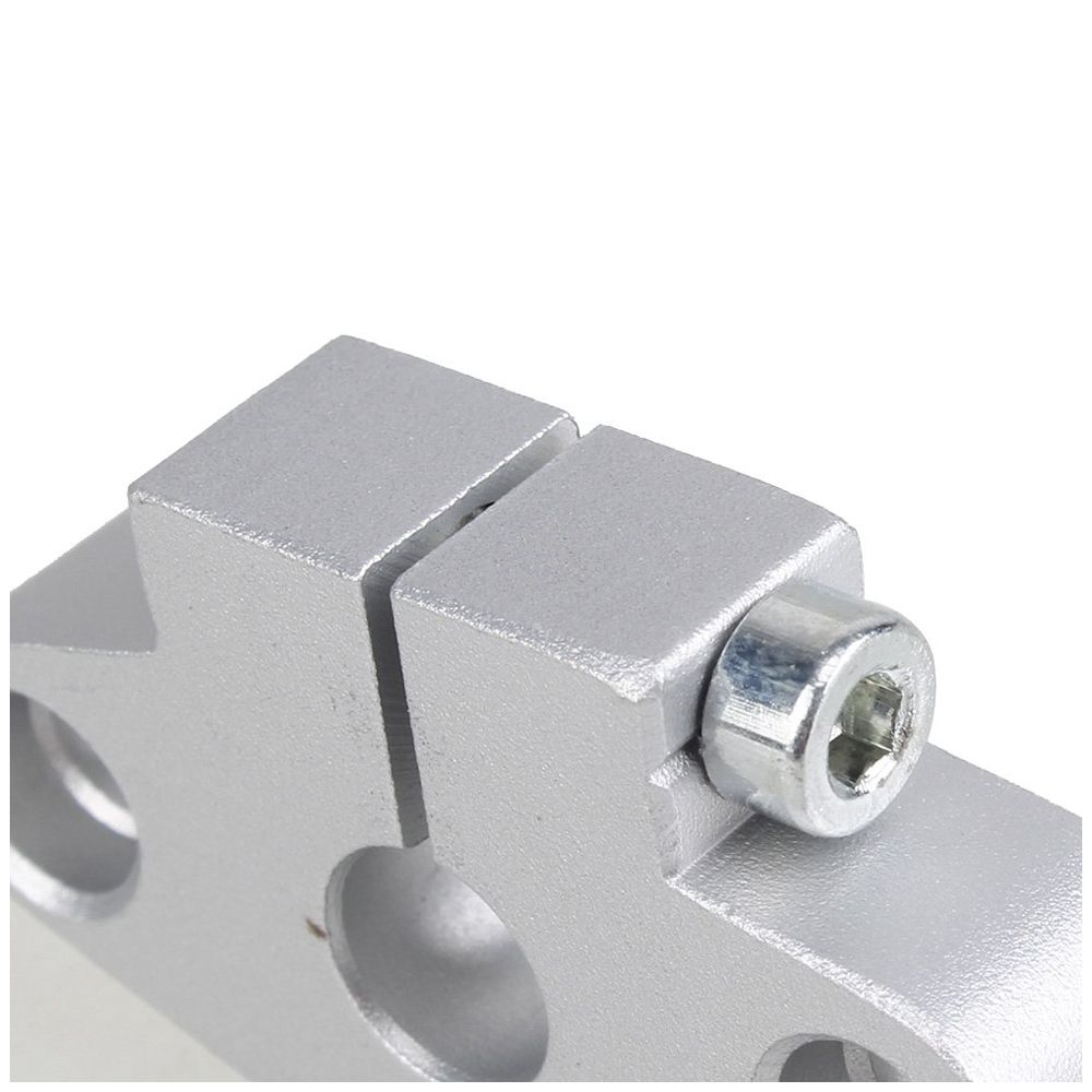 Silver-SHF8-Linear-Rod-Rail-Shaft-Support-8mm-Linear-Motion-Pack-of-2-T2Z2