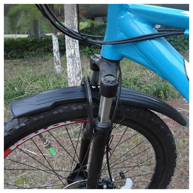 Mud Guards Bike 24//26 inch Cycling Front Rear Mudguards Fender Set Bicycle O3T7