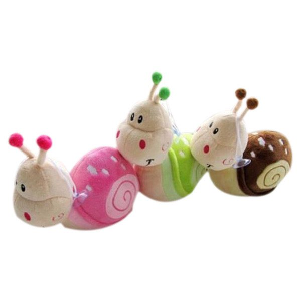 20X(Small Snail Kids Gift Plush Doll Toy Small Snail Doll M5I4)